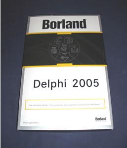 Borland Delphi 2005 box
