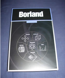 Borland Delphi 2005 box inside of outer sleeve