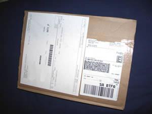 Box from FedEx